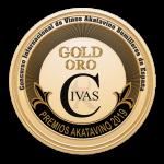 Medalla Civas Oro Premios Akatavino 2019