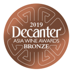Medalla de Bronze Premios Decanter Asia 2019