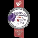 Medalla Rubí Premios Mujer y Vino 2019