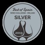 Medalla Silver Premios Wine Challenge Ireland 2019